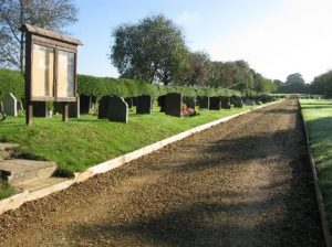 Downton Cemetery general view